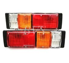 Pair Tail Light For Isuzu KB Bedford Chevrolet LUV Chevy Pickup Mini Truck