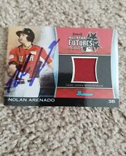 Nolan Arenado - 2011 Bowman Game Worn Jersey - Futures Game auttograph!!!!@@@
