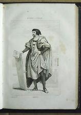 1850.Acciaio=MASACCIO RITRATTO.PITTORE.Musèes d'Italie=Italie.Pittoresque.ETNA