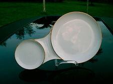 Mid Century Denmark  Snack Holder B & G 756 CUP SPACE GOLD TRIM KJOBENHAVN