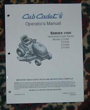 CUB CADET LT1045  OWNER / OPERATORS MANUAL