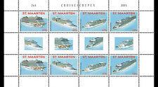 Sint Maarten - Postfris / MNH - Sheet Cruiseships 2015