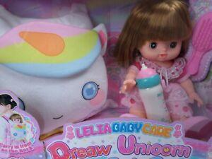 Lelia Puppen Spielsets , Puppe  26cm, mit Buggy oder Tragetasche