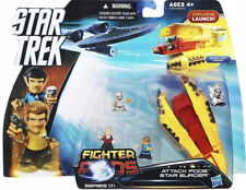 Star Trek Fighter Pods Series 01 Star Surger Attack Pods Spock