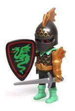 Playmobil Figure Castle Dragon Slayer Knight w/ Shield Sword Helmet 5738