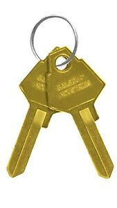 Salsbury Industries 2099 Key Blank-Pair(2 Keys)-Standard Lock/Brass Mailbox/Post