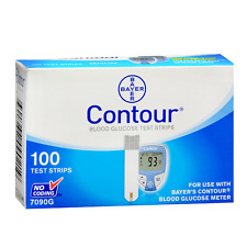 Bayer Contour Test Strips 100 Ct. Retail
