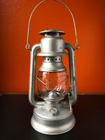 Vintage Lantern VAN CAMP No 6 Supreme Kerosene Oil Lamp Light DIETZ D-LITE Globe