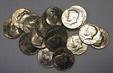 1976-D Bicentennial Kennedy Half Dollar Roll 20 Coins in Hard Plastic Tube