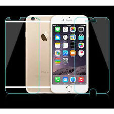 5 x FRONT AND 5 x BACK FOR IPHONE 6 4.7 CLEAR LCD SCREEN PROTECTORS COVER GUARD