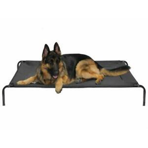 Go Pet Club PC-50 Elevated Cooling Pet Cot Bed 200 Pounds