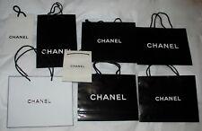 Chanel Black Paper Shopping 8 Gift Bag,various sizes