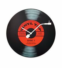 Nextime Wanduhr 8141 Vinyl Tap Uhren