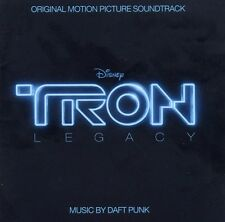"DAFT PUNK ""TRON LEGACY"" CD ORIGINAL SOUNDTRACK NEW+"