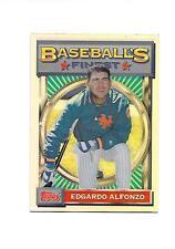 2001 TOPPS '93 FINEST Refractor EDGARDO ALFONZO