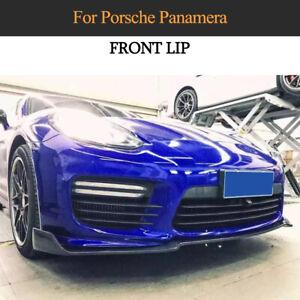 Für Porsche Panamera GTS Turbo/S 14-16 Carbon Front Spoiler Frontlippe Diffusor