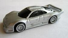 Maisto Mercedes Benz CLK-GTR Street Version Silver 1:64 - Loose VG