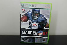 Madden NFL 07  (Xbox 360, 2006) *Tested