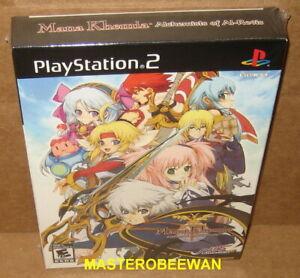 Mana Khemia Alchemists of Al-Revis Premium Box Set (PlayStation 2, 2008) PS2 New