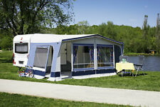 Vorzelt Wohnwagen dwt Fiesta 300cm tief blau Reisezelt Camping Ganzzelt Camping