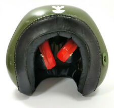 RARE VINTAGE SOUNDPROOFING MILITARY HELMET1 -  COLD WAR ERA POLISH ARMY POLAND