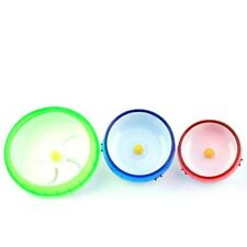 Silent Spinner Exercise Wheel For Rodent Mice Hamster Gerbils Pink Pet Ting #5Z