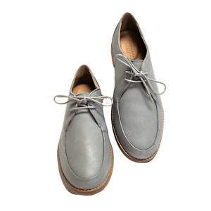 Sperry Top-Sider Seaport Elise Women 5 35 Oxford Shoes Suede Lace Up Gray NEW
