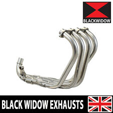 HONDA CB600F CB 600 CB600 HORNET PC34 EXHAUST HEADERS DOWN PIPES STAINLESS 98-02