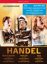 Handel: Giulio Cesare, Rinaldo, Saul [Box Set] [Blu-ray], New DVDs