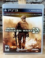 Call of Duty: Modern Warfare 2 (PlayStation 3, 2009)complete with manual