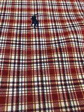 Polo Ralph Lauren Blake Men Shirt Long Sleeve Button Up Tartan Plaid 17 Large L