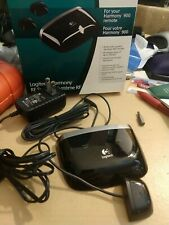 Logitech Harmony 900 RF System Remote Control VGC with one emitter block, base