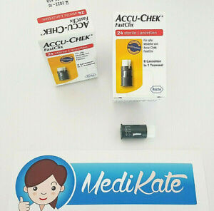 ACCU CHEK FastClix sterile Lanzetten 24 St., 4x6er Trommeln Roche, PZN 07234971