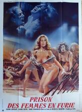 WOMEN IN FURY - SEXY WOMEN / XRATED / CARVALHO - ORIGINAL LARGE MOVIE POSTER