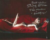 Goldfinger Shirley Eaton James Bond signed authentic autographed photo AK1381