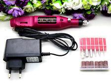UK Professional Electric False Nail Art File Drill Manicure Pedicure Machine Set