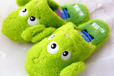 Disney toy story aliens fuzzy plush indoor slippers shoes slipper shoe one pair