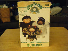 Butterick 6984 Cabbage Patch Kids Coats Pattern