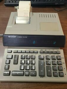 SHARP Compet CS-2790 desktop 2 color printing calculator programmable adding CPA