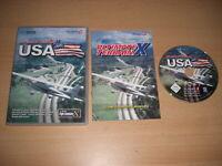 ULTIMATE TERRAIN X USA Pc DVD Rom Add-On Microsoft Flight Simulator Sim X FSX FS