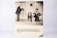 Vintage Kodak Instamatic Black & White Cardboard Camera Store Display Sign V18