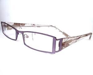 Carmen Marc Valvo Lourdes Lilac Eyeglasses 51-18-140 Plastic Frames new