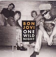Jon Bon Jovi-One Wild Night cd single