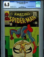 Amazing Spider-man #35 CGC 6.5 FN+ 1966 Marvel Comic 2nd Molten Man B21