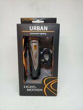 LIGHT & MOTION Urban 700 Lumens Bicycle Front Headlamp / SILVER BLACK