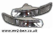 NEW Toyota MR2 mk2 2.0L Crystal Front Bumper Side Lights Indicators SW20