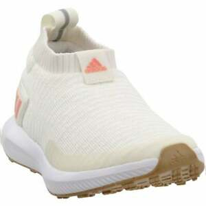 adidas Rapidarun Laceless Knit Kids Boys  Sneakers Shoes Casual   - White - Size