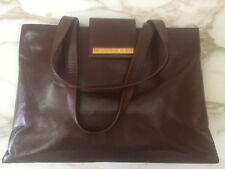Bulgari brown leather bag - New w/o tags - original box and packaging
