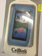 Nokia N8 Silicon Case in Aqua Blue SCC4502AQ. Brand New in original packaging.