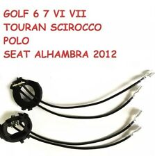2 ADAPTADORES KIT  LED, XENON  H7 PARA GOLF VI, VII,TOURAN,ALHAMBRA,SCIROCCO,